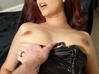 Gorgeous Latina MILF Stepmom Sucks, Bang's And Swallows Spunk