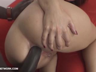 Nympho Likes It Hardcore Gets Anal Banged By Massive Black Tool Honey Swallows Spunk