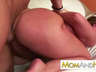 MILF MOM Kelly Divine Swallows Sperm