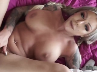 STEP DAUGHTER KARMA RX FUCKS AND SWALLOWS CUM ON VALENTINE'S DAY