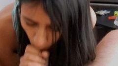 Teen Blows Tool After Smoking
