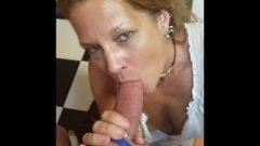 My Mature Wife Daizy Craves To Deepthroat Tool And Slurp Cum!