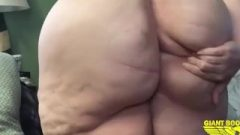 Obese Spread Butt Cumpilation