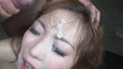 Aiko Nagai's Jail Bukkake Cream Pie Facefuckfest (uncensored Jav)