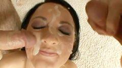 21 Facials For Bukkake Darling Deena – Cover My Face