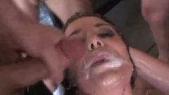 Forcing Him To Spunk Inside Her Bukkake Beverly Hills