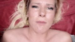 Brutal Pov Eye Contact Facefuck And Jizz Drink Of Helpless Amateur Babe