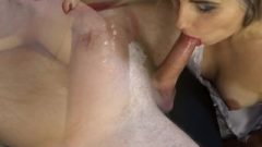 Teen Kissable Wife Doing Suggestive Blow Job And Drains His Balls – Letty Chocolate