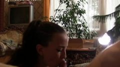 Sensual Wife Deep Throat Close Up Blow Job And Jizz Ingest Sylvia Chrystall Hd.