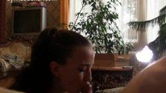 Sensual Wife Deep Throat Close Up Blow Job And Jizz Ingest Sylvia Chrystall Hd.
